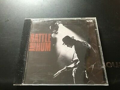 U2-rattle and hum/17 trax/vg con cd/1988