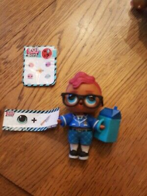 LOL Surprise Doll BOYS SERIES SMARTY PANTS Doll NEW 100% complete! B