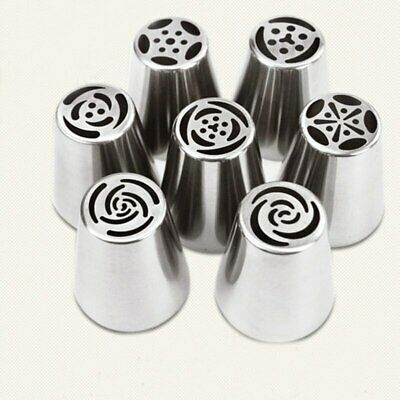 Russian Tulip Icing Piping Nozzles Pastry Decorating Tips Cake Decorator Rose
