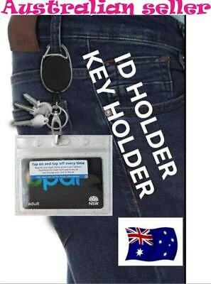 retractable lanyard nurse id badge opal card key holder business  security Pass