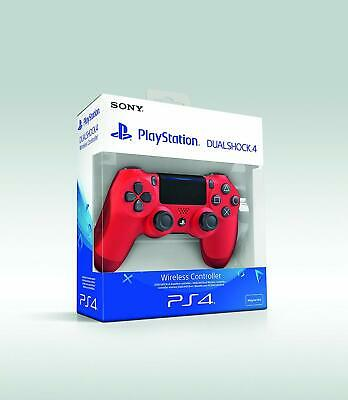 SONY PS4 Wireless Dualshock 4 Controller Original V2 Neustes Modell Rot