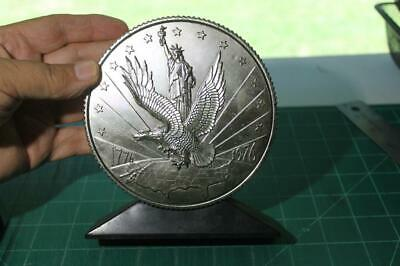 Vintage Bicentennial Bank 1776-1976 Statue of Liberty Colonial Solider