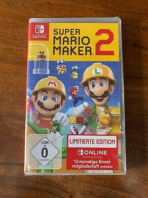 Nintendo Switch Super Mario Maker 2 NEU&OVP! Limited Edition!...