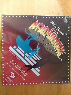 """Mike Farrell Vintage """"Broadway"""" Board Game, Unopened, Rare, Excellent Condition"""