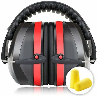 34 NRR Shooting Ear Muffs Gun Range Noise Reduction US Hearing Protection Safety