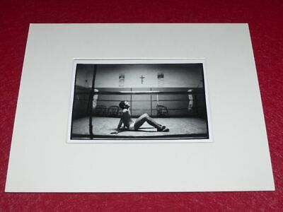 [PHOTOGRAPHIE] JAMES A. FOX (Agence MAGNUM) ARGENTIQUE BOXE (183)