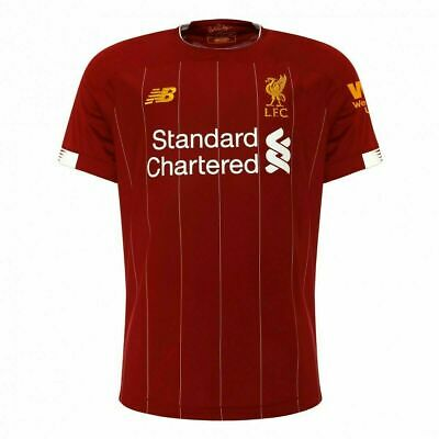 Liverpool Home Shirt 2019/2020 (S, M, L, XL, XXL) LFC Mens Football Shirt Jersey