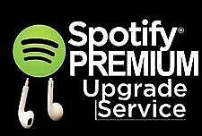 Spotify PREMIUM UPGRADE YOUR OWN ACCOUNT WITH 1 YEAR WARRANTY