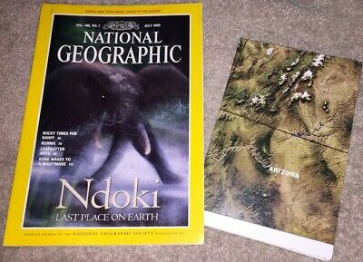 National Geographic Magazine - July 1995 Vol 188 No 1 Ndoki Last Place On Earth