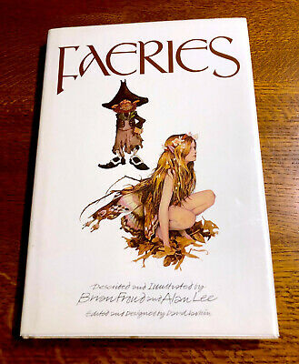 Rare FAERIES 1979 US 1st Edition Brian Froud Alan Lee SIGNED w ORIGINAL DRAWING!