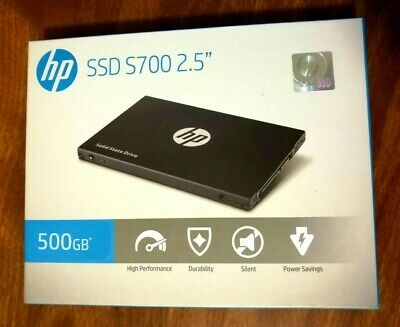 NEW SSD HP S700 500GB Internal 2.5-inch SATA3 Solid State Drive