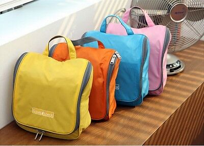Waterproof Women Travel Wash Bags Portable Large Toiletry Gargle Folding Bag DS
