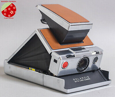 ●●Excellent+++++ Vintage POLAROID SX-70 LAND CAMERA Instant Film from Japan●●
