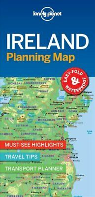 Lonely Planet Ireland Planning Map by Lonely Planet 9781787014541 | Brand New