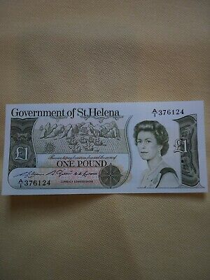 Government of St HelenaOne Pound Note