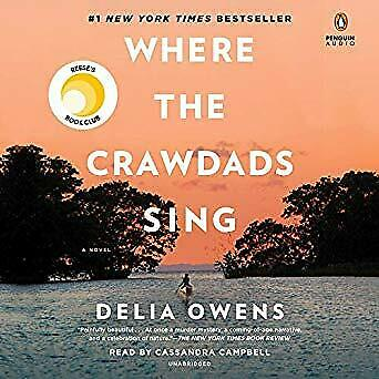 Where the Crawdads Sing- Audiobook - NO CD