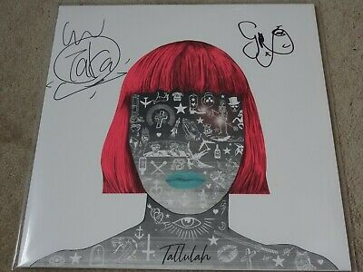Feeder - Tallulah Limited Edition Signed White Coloured Lp Vinyl Record
