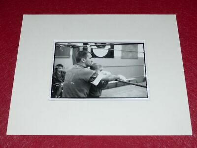 [PHOTOGRAPHIE] JAMES A. FOX (Agence MAGNUM) ARGENTIQUE BOXE (224)