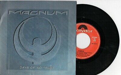 "MAGNUM - Days Of No Trust /Maybe Tonight, SG 7"" SPAIN 1988"