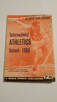 International Athletics Annual 1960 - ATFS (World Sports) - Ottimo stato