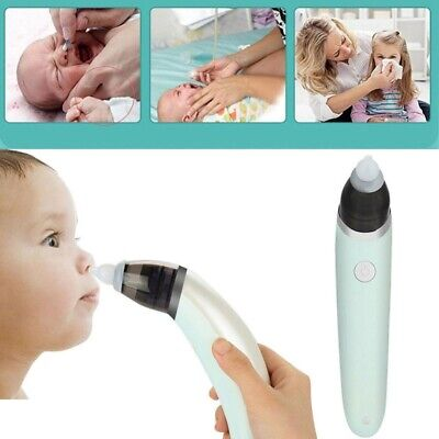 1pc Baby Nasal Aspirator Electric Automatic Snot Vacuum Sucker for Baby Infant