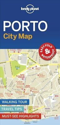 Lonely Planet Porto City Map by Lonely Planet 9781787014602 | Brand New