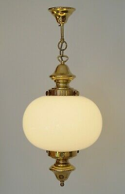 Beautiful Art Nouveau Ceiling Light Pendant Light Sphere Lamp Brass Lamp