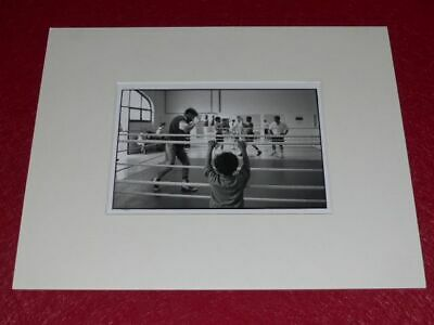 [PHOTOGRAPHIE] JAMES A. FOX (Agence MAGNUM) ARGENTIQUE BOXE (229)
