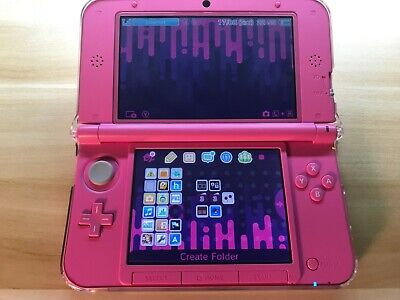 NEW NINTENDO 3DS XL Handheld System Red w/ 70+ 3DS Games