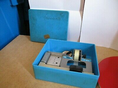 ** Ferrania CIR 8mm cine film splicer. Made in Italy. Boxed **