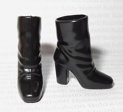 Hb ~Shoes Barbie Doll Model Muse Black Autumn Bella Twilight Slouch Ankle Boots