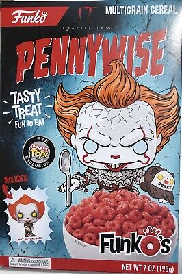 Funko IT Chapter 2 Pennywise Cereal W/ Pocket Pop Exclusive IN HAND