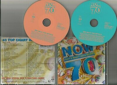 NOW THAT'S WHAT I CALL MUSIC 70 ( Double CD 2008)