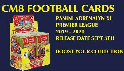 Panini Adrenalyn XL Premier League 2019 2020 Base Cards 25 50 100 IN STOCK