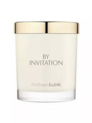Michael Buble By Invitation Perfumed Scented Candle 180g- Brand New