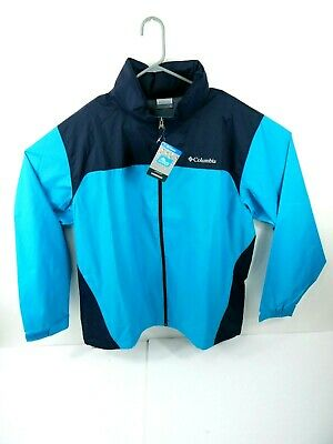 Columbia Mens GLENNAKER LAKE RAIN Jacket Blue Sz XL - NWT