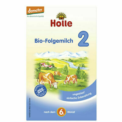 4 BOXES - Holle Organic Infant Formula Stage 2, 600g - FREE SHIPPING!