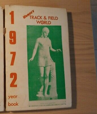 Women's Track & Field World yearbook 1972 - Ottimo stato