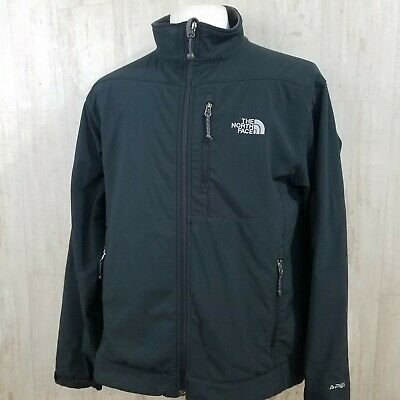 The North Face Apex Bionic Jacket Black Men's Large TNF Softshell Coat