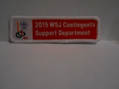2019 World Jamboree Contingents Support Department Patch