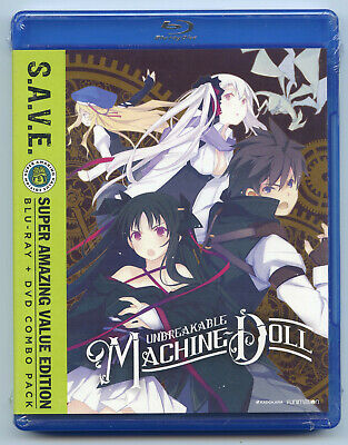 Unbreakable Machine-Doll The Complete Series Blu-ray + DVD 4-Disc Set S.A.V.E.