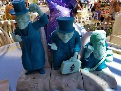 Complete Set-Dinseys 50th Anniversary Haunted Mansion-Popcorn Bucket/Sipper/ect.