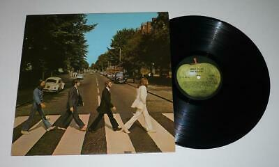 The Beatles Abbey Road Apple LP with Capitol Logo in Perimeter Printing