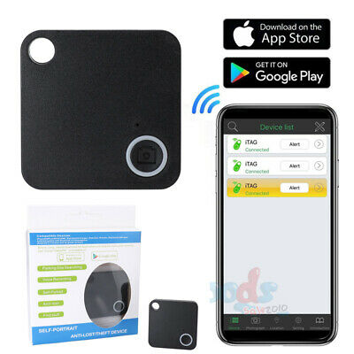 Tile Bluetooth Tracker : Mate GPS Locator -1Pack :GPS Tracker Bluetooth4.0 BLK