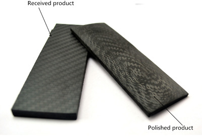 Full 3K Carbon Fiber DIY Making Material Customized For Knife Blade Handle Scale