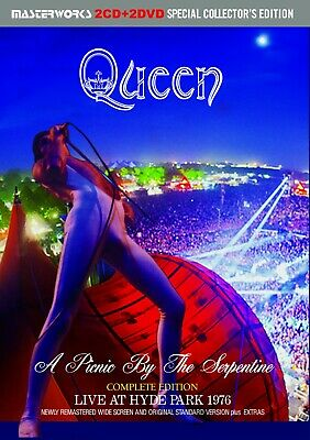 QUEEN  1976 LIVE COLLECTOR'S ITEM COMPLETE EDITION 2xCD+2xDVD *F/S