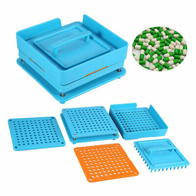 100 Holes Capsule Filler Size 0 Manual Filling Machine With Tamper High quality