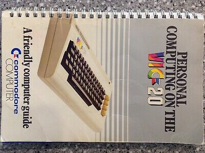 Personal Computing On The Vic-20 Commodore Computer Manual Pb Book