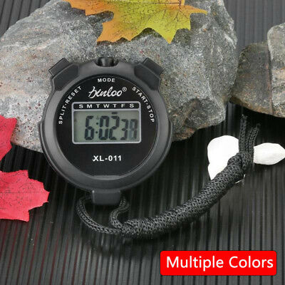 Digital Sports Stopwatch Stop Watch Timer Alarm Counter Timer Portable Handheld