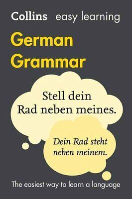 Easy Learning German Grammar by Collins Dictionaries 9780008142001 | Brand New